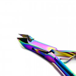 MEDSPO Multi Color Manicure Cuticle Clipper Cutter Nipper Fingernail Cuticles Chiropody Professional Stainless Steel