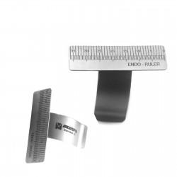 MEDSPO Dental Finger Ruler Endo Gauge Measure Scale Endodontic Ring Gauge