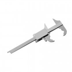 MEDSPO Orthodontic Dental Boley Gauge Caliper Dentist Vernier Lab Instruments