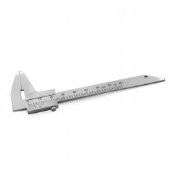 MEDSPO Duck Barren Gauge Single End Dental Bracket positioning Measuring Orthodontic Instruments