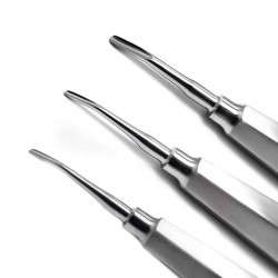 MEDSPO Dental Luxation Root Elevators Set Of 6 Oral Surgery Tooth Loosen Surgical Tools