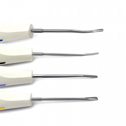 MEDSPO Dental Plastic Handle Elevator Tooth Loosening Extracting Oral Surgery Tools Set Of 8