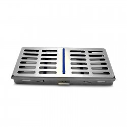 MEDSPO Surgical Dental Sterilization Cassette Stainless Steel 7 PCS Autoclave Box Tools