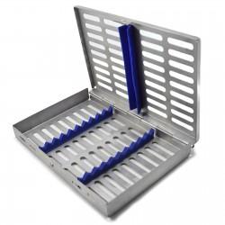 MEDSPO Surgical Sterilization 10 PCS Cassette Rack Box Restorative Instruments