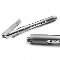 MEDSPO  Dental Anesthesia Self Aspirating Curved Point Intraligmental Pen Style Syringe