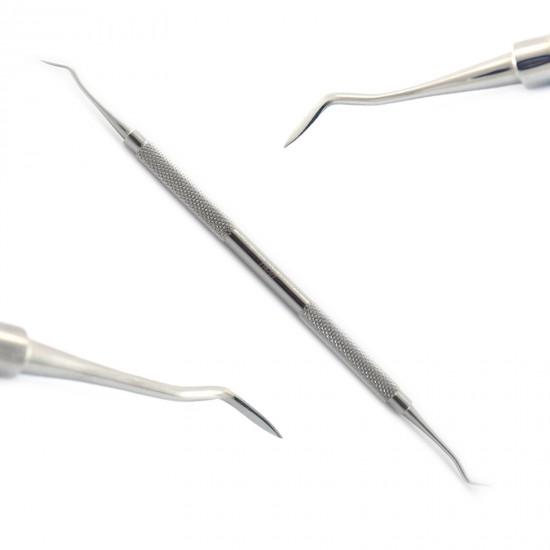 Dental Hemingway Lucas Bone Curettes Periodontal Spoon Scoop Type Implant Lab
