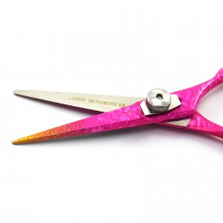 Professional Pink Color Barber Salon Hair Cutting Scissors Hairdressing Shears 5.5""