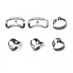 Dental Premolar Tissue Brinker Clamps Retractor Incisors Canines Retention Clamps B1 to B16