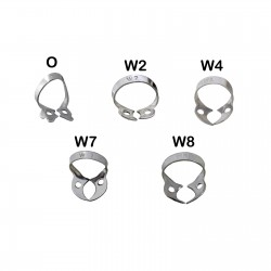 Orthodontic Rubber Dam Wingless Clamps Set of 5 Dentist Rubber Dam Retention Clamps