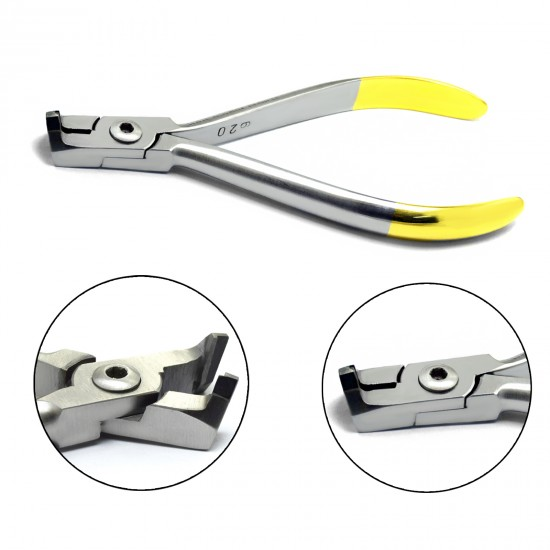 Distal End Cutter Hard Wire Precision Cutting Professional Orthodontic Pliers with Tungsten Carbide Inserts