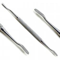 Dental Bone File Double End Orthopedic Implant Scraper Surgical Instruments