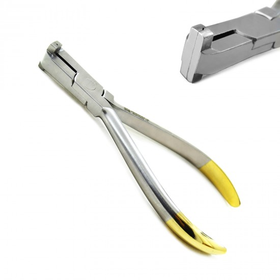 Orthodontic Step Plier 0.75mm Dental Detailing Wire Bending Forming Laboratory Plier