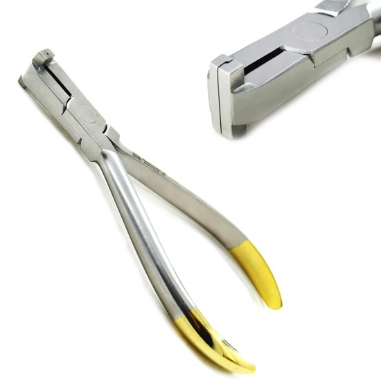 Professional Dental Pliers Brackets Wire Bending Shaping Detailing Step Pliers 1.00mm