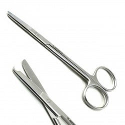 Dental Surgical Scissors Stitch Spencer Scissor 13cm Seam Scissors Stainless Steel lab