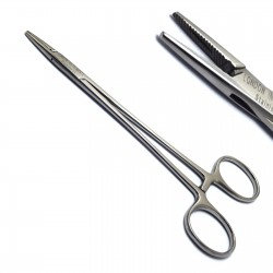 Crile Wood Needle Holder 14cm  Dental Surgical Suture Holding Serrated CE
