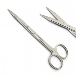 Dental Goldman Fox Scissors Straight 13cm Dental Surgical Stainless CE Medspo