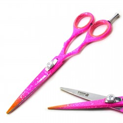 "Left-Handed Hairdressing Scissors Hair Cutting Scissors and Shears 6.5"" Stainless steel"