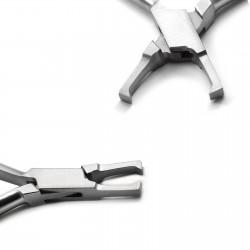Orthodontic Pliers Dental Bracket Removing Pliers Straight Dental Instruments