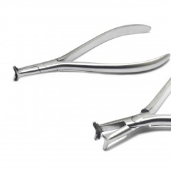 Hammer Head Cinch Back Niti Plier Without Serration For Wire Bending Dental Orthodontic Tools